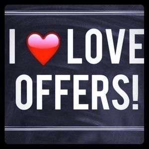 Offer and I may counteroffer!